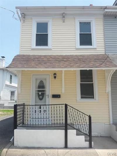 Single Family Home Available: 337 North 3rd Street