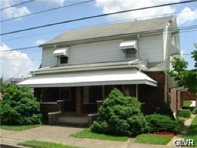Hellertown Borough Single Family Home Available: 1635 Bleyler Street