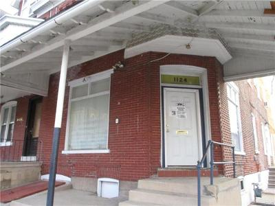 Multi Family Home Available: 1124 West Tilghman Street