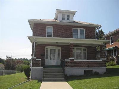 Single Family Home Available: 1610 Washington Street