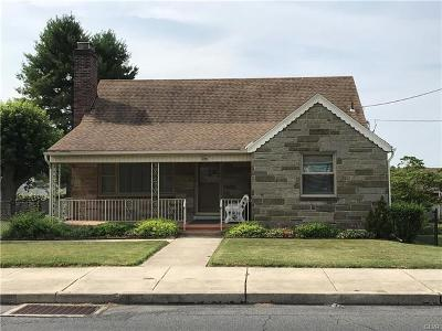 Northampton Borough Single Family Home Available: 556 East 10th Street