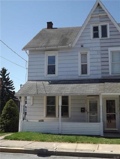 Northampton Borough Single Family Home Available: 702 Washington Avenue