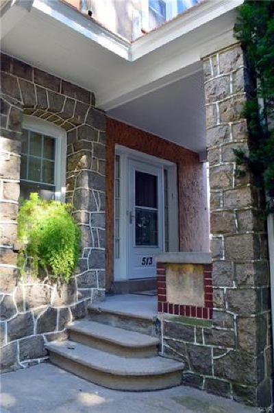 Allentown City Single Family Home Available: 513 North Saint George Street