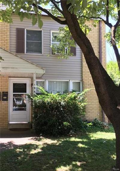 Allentown City Single Family Home Available: 1940 South Hall Street