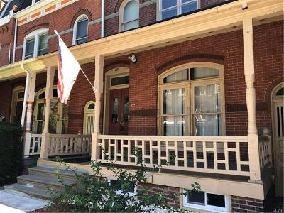 Allentown City Single Family Home Available: 23 North 11th Street