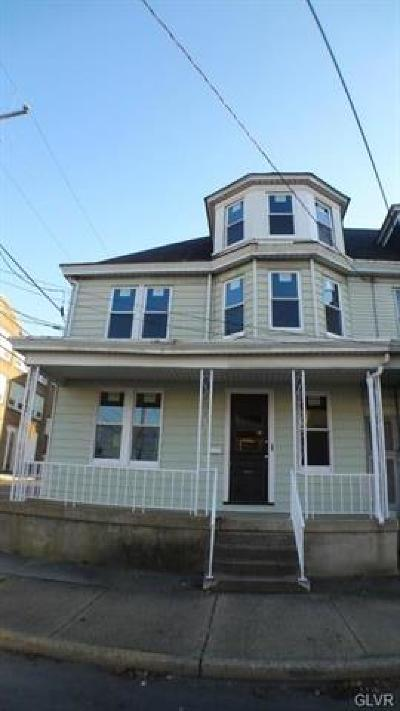 Single Family Home Available: 900 Lehigh Street #1