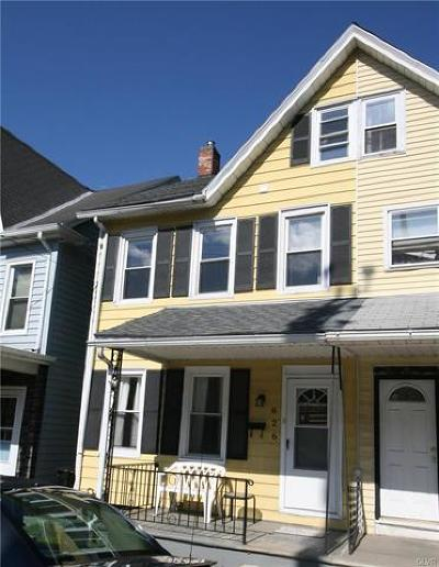 Easton Single Family Home Available: 626 Valley Street