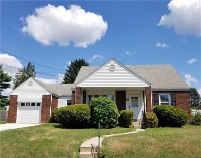 Allentown City Single Family Home Available: 31 East Montgomery Street