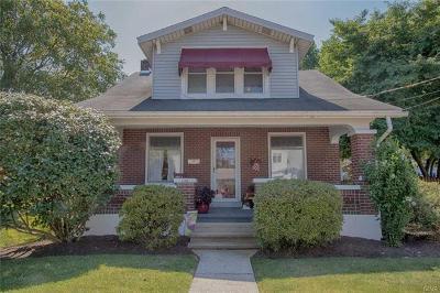 Emmaus Borough Single Family Home Available: 1112 Pennsylvania Avenue