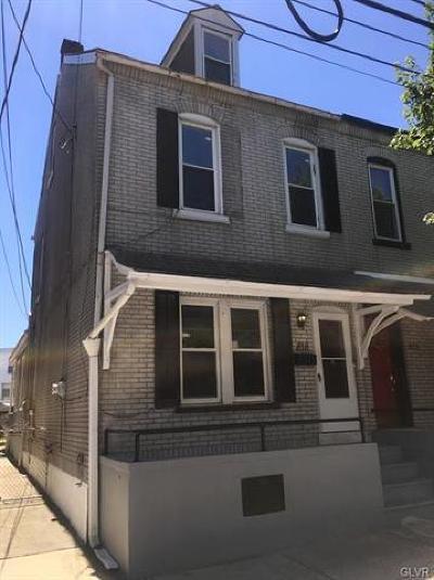 Single Family Home Available: 818 West Gordon Street