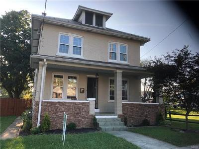 Single Family Home Available: 1670 Washington Street