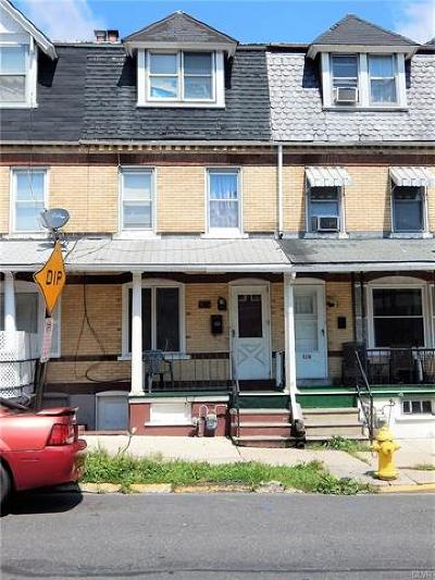 Allentown City PA Multi Family Home Available: $79,900