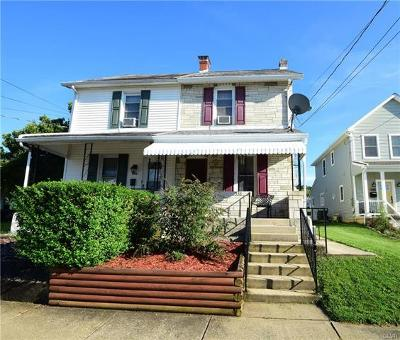 Emmaus Borough Single Family Home Available: 538 Furnace Street