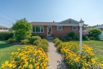Bethlehem City Single Family Home Available: 2032 Siegfried Street