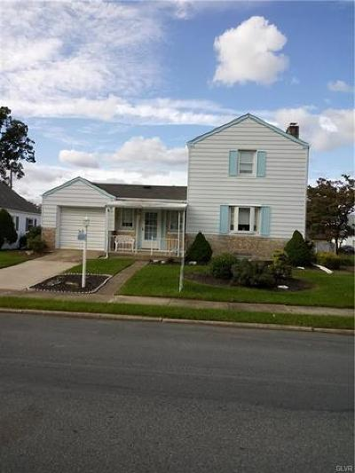 Allentown City Single Family Home Available: 223 West Wabash Street