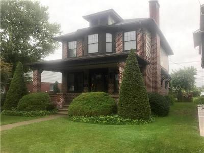 Single Family Home Available: 834 North Sherman Street