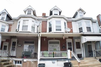 Allentown City Single Family Home Available: 213 South Carlisle Street