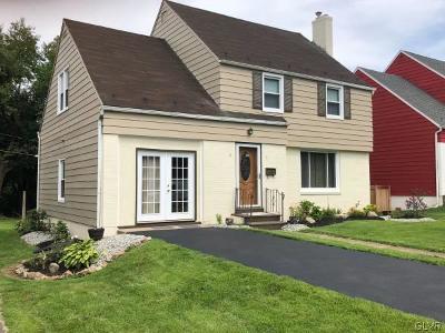 Single Family Home Available: 1509 Bushkill Street
