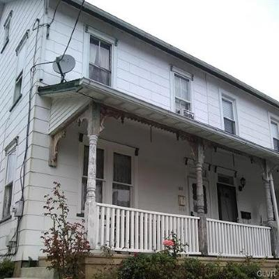 Northampton Borough Single Family Home Available: 513 East 4th