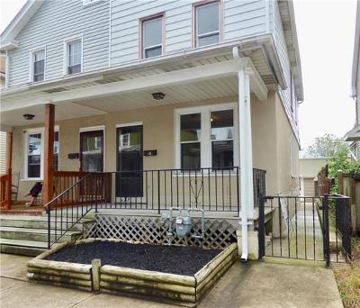 Bethlehem City Single Family Home Available: 738 East Fairview Street