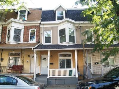 Allentown City Single Family Home Available: 203 North Jordan Street
