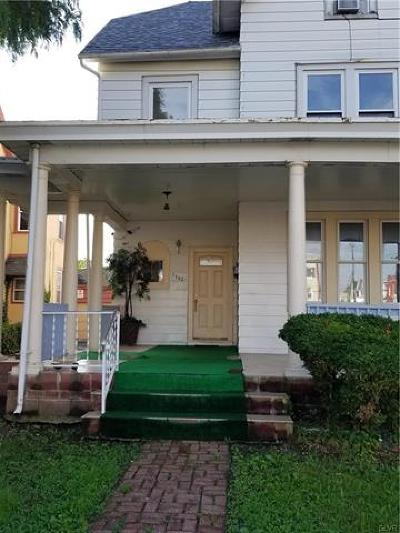Allentown City Single Family Home Available: 1322 West Linden Street #2