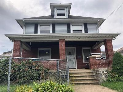 Single Family Home Available: 835 South 24th Street