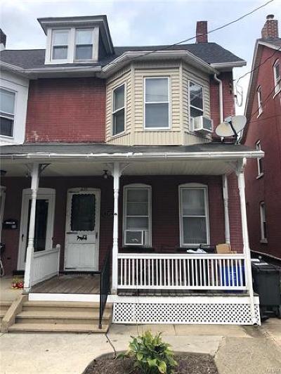 Bethlehem City Single Family Home Available: 235 East Ettwein Street