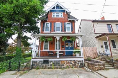 Bethlehem City Single Family Home Available: 605 Prospect Avenue