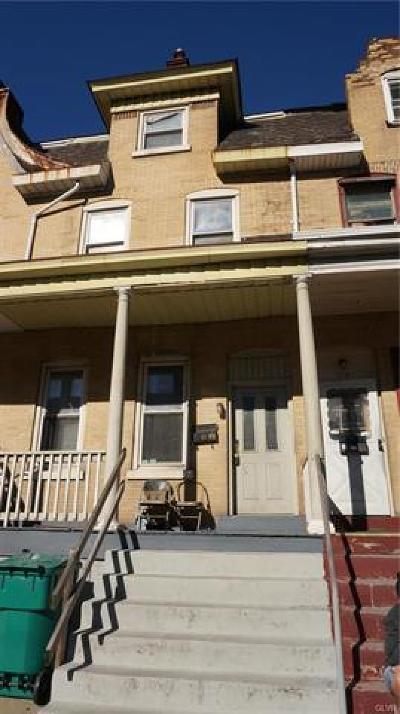 Bethlehem City Multi Family Home Available: 717 Broadway