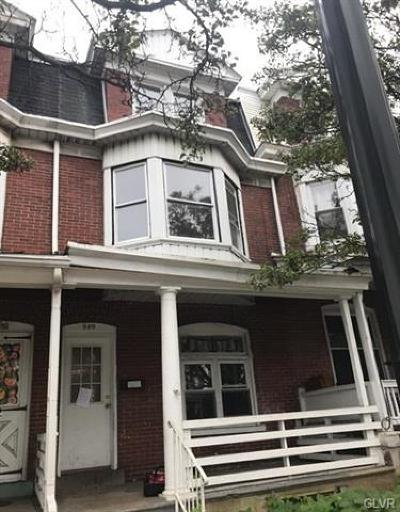 Single Family Home Available: 949 North 7th Street
