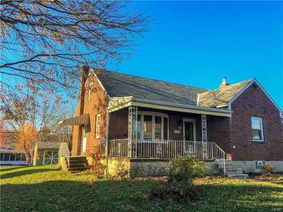 Hellertown Borough Single Family Home Available: 1030 New Jersey Avenue