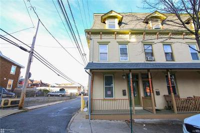 Bethlehem City Single Family Home Available: 418 Hayes Street