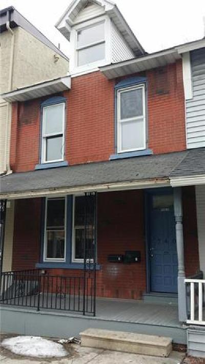 Allentown City Single Family Home Available: 740 North 8th Street #1