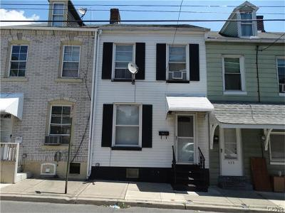 Allentown City Single Family Home Available: 431 North Church Street