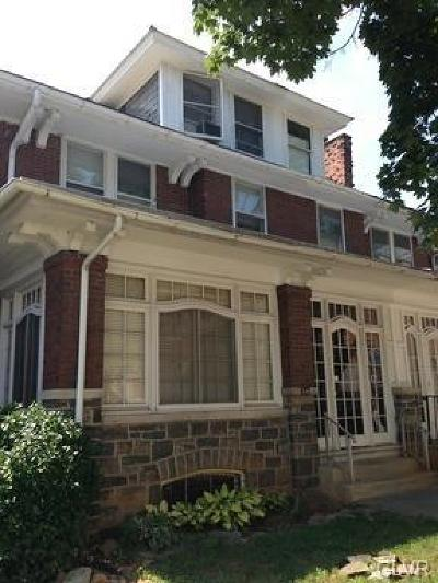 Allentown City Single Family Home Available: 34 South 18th Street #2nd floo