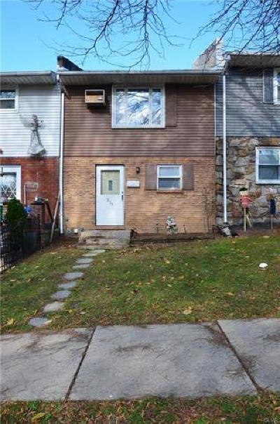 Allentown City Single Family Home Available: 233 East Mosser Street