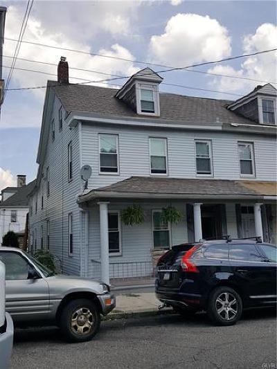 Easton Single Family Home Available: 1503 Lehigh Street #1