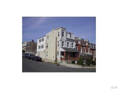 Allentown City Single Family Home Available: 902 North 5th Street #3