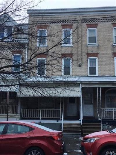 Single Family Home Available: 723 West Tilghman Street