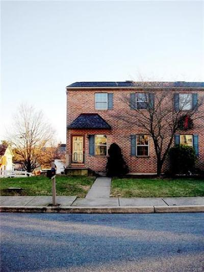 Northampton Borough Single Family Home Available: 107 Boro Vu Drive