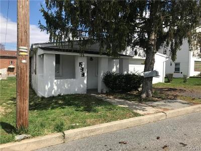 Multi Family Home Available: 633 Carldon Street