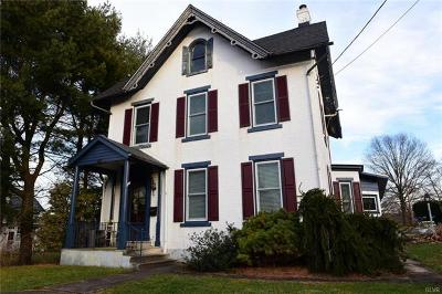 Coopersburg Borough Single Family Home Available: 237 South Main Street