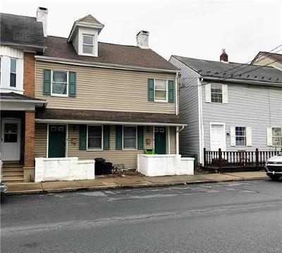 Multi Family Home Available: 126 2nd Street