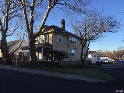 Hellertown Borough Single Family Home Available: 440 Delaware Avenue #1