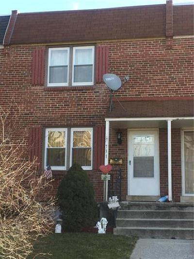 Allentown City Single Family Home Available: 731 Plymouth Street