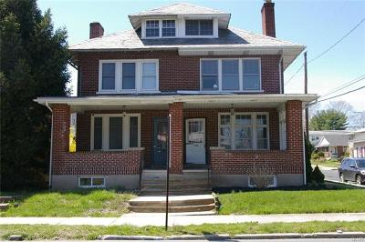 Allentown City Single Family Home Available: 1026 North 19th Street
