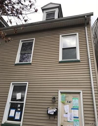 Single Family Home Available: 747 Washington Street