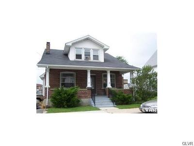 Emmaus Borough Single Family Home Available: 18 North 3rd Street