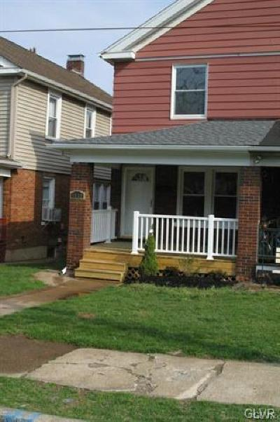 Single Family Home Available: 1529 Spring Garden Street